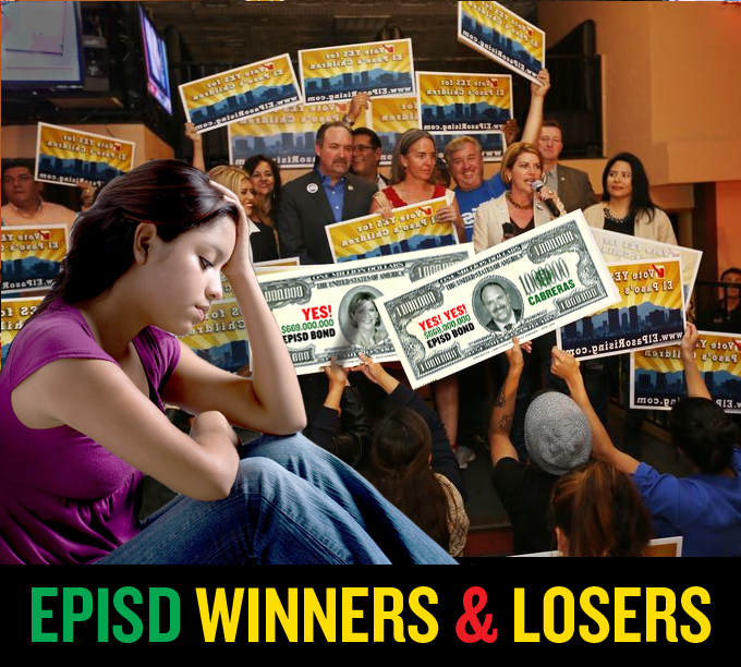 EPISD bond winners and losers Jud Burgess