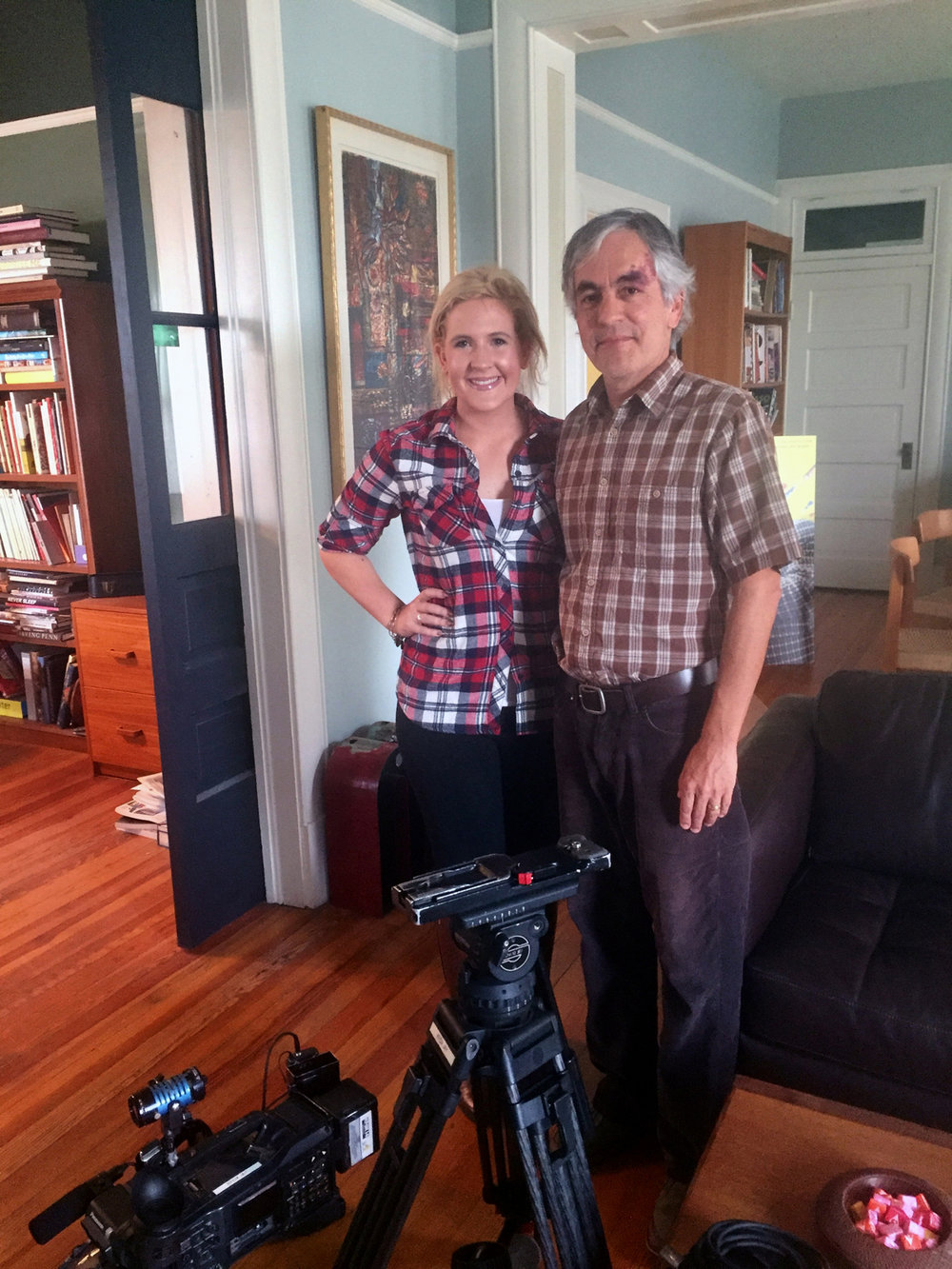 I'll be on KFOX 14 tonight at 9 p.m.  This is Genevieve Curtis, Chief Investigative Reporter for KFOX 14 News. She interviewed me today at my office on a segment about the BIG $$$ behind the EPISD PACs. ($500,000 and counting)
