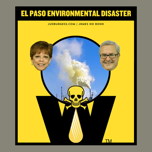El Paso Environmental Disaster © Jud Burgess