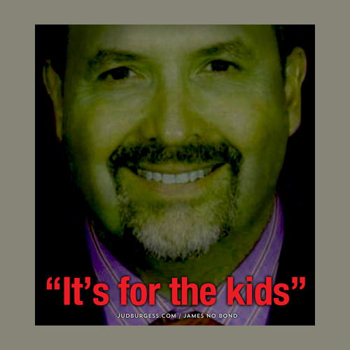 Juan Cabrera It's for the Kids © Jud Burgess