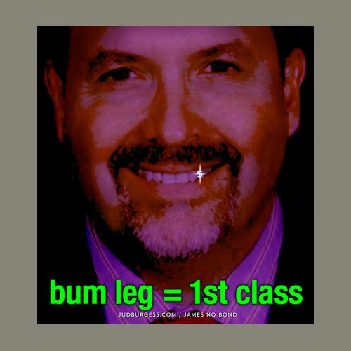 Juan Cabrera Bum Leg Fist Class © Jud Burgess