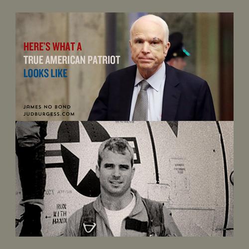 McCain American Patriot © Jud Burgess