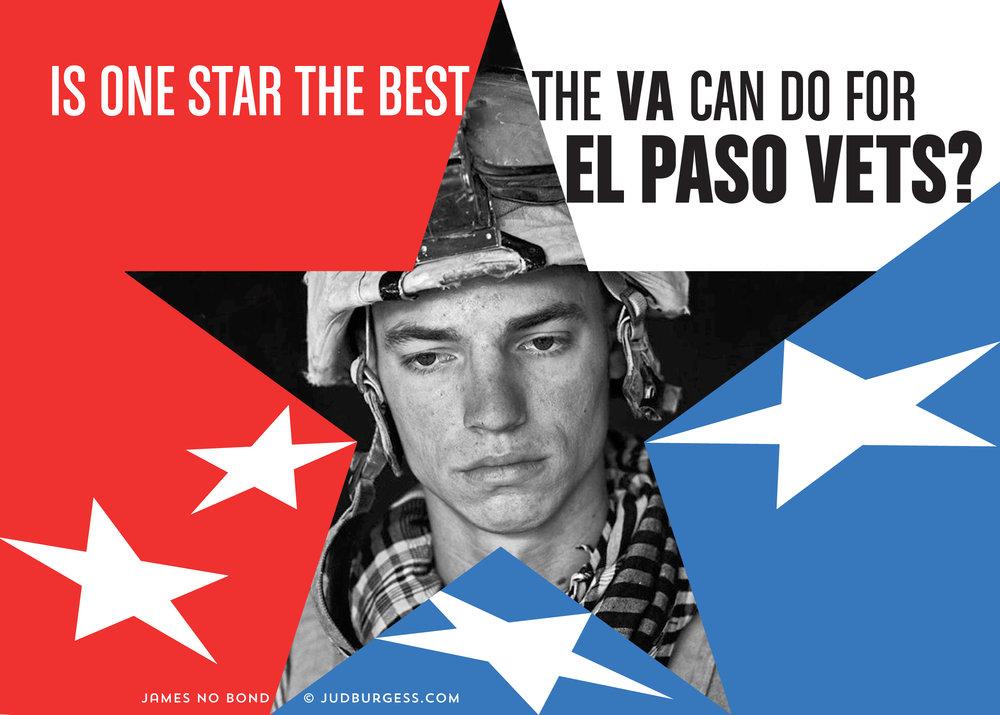 El Paso VA gets one-star rating again © Jud Burgess