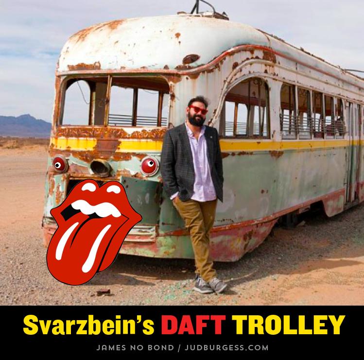 Svarzbein Daft Trolley © Jud Burgess