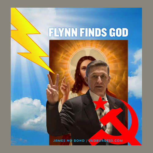 Michael Flynn finds God © Jud Burgess
