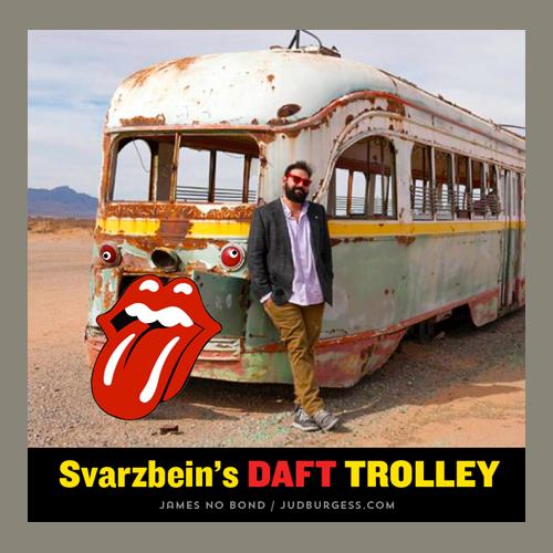 Peter Svarzbein Daft Trolley © Jud Burgess