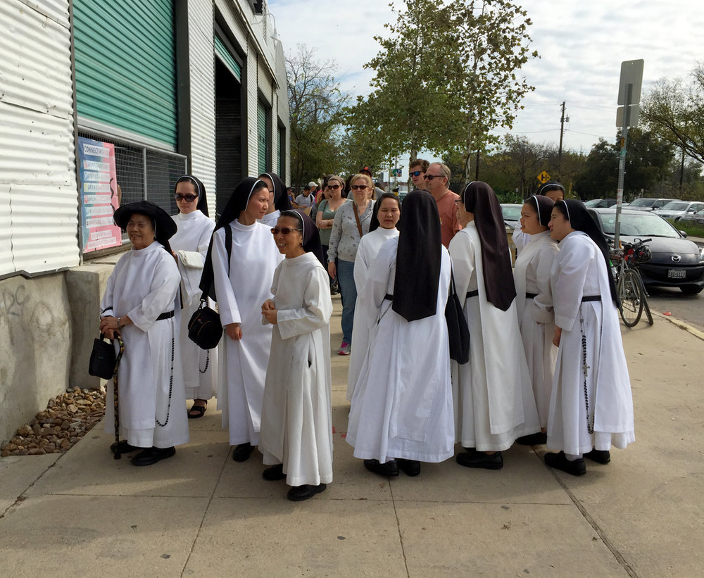 filipino nuns in Austin © Jud Burgess