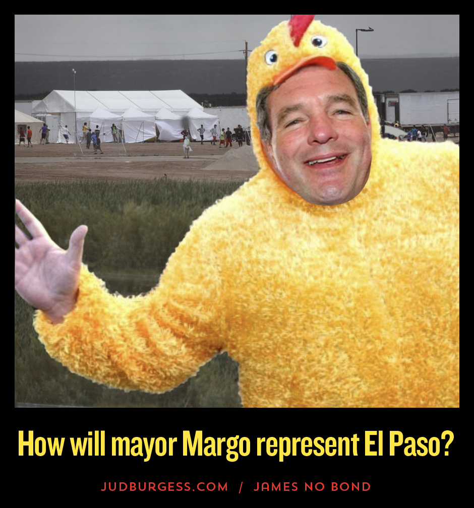 Is mayor Dee Margo a coward © Jud Burgess