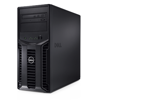 Dell PowerEdge T110 server came from a working office. Recently wiped and reinstalled with Server 2008 R2 64 Bit SP1 with valid license key. Intel i3 2100 @ 3.10GHZ 4GB of RAM DD3 666Mhz ,   500GB HDD,  DVD drive $500