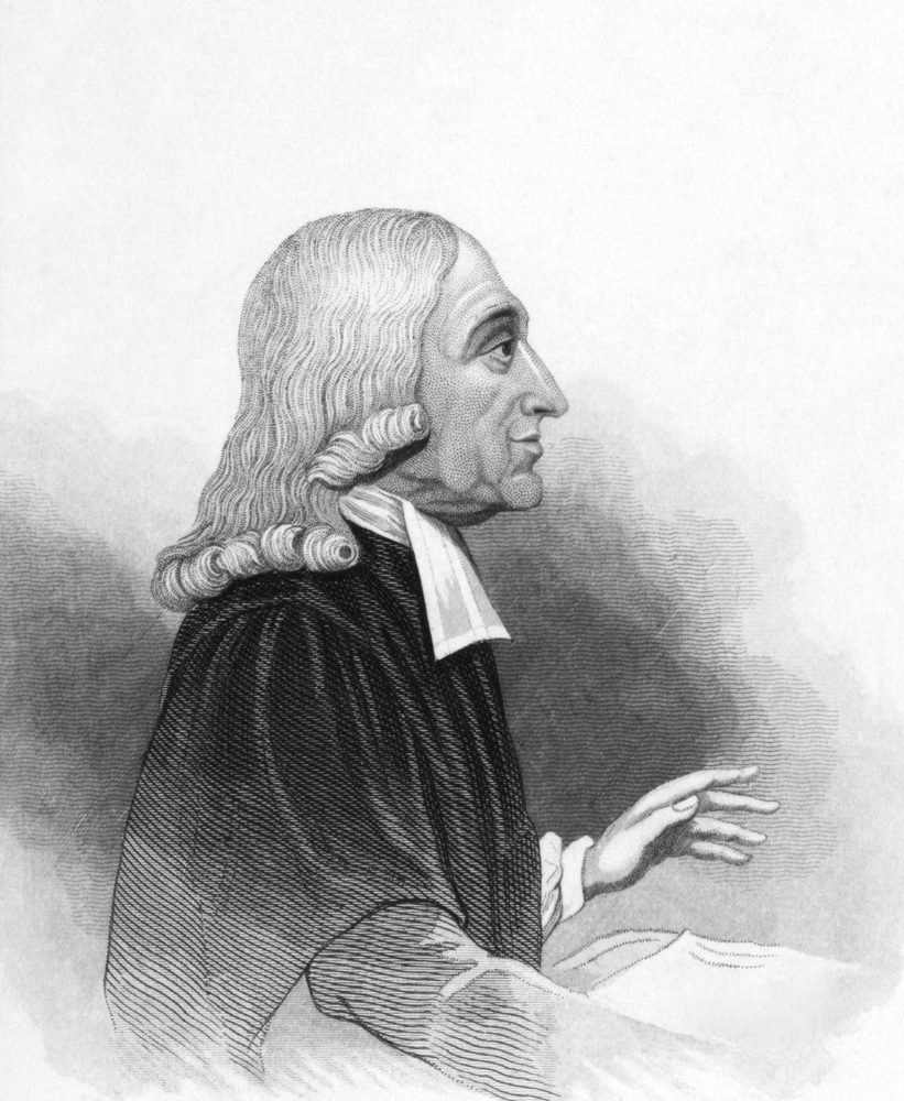 John Wesley (1703-1791). Engraved by anonymous engraver