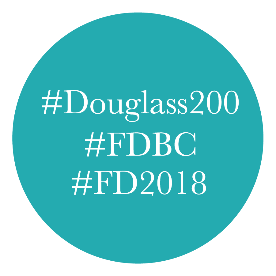 Join the Conversation - Subscribe to our newsletter.Use our hashtags: #FDBC #Douglass200 #FD2018Find us on social media:Twitter      Facebook      Tumblr