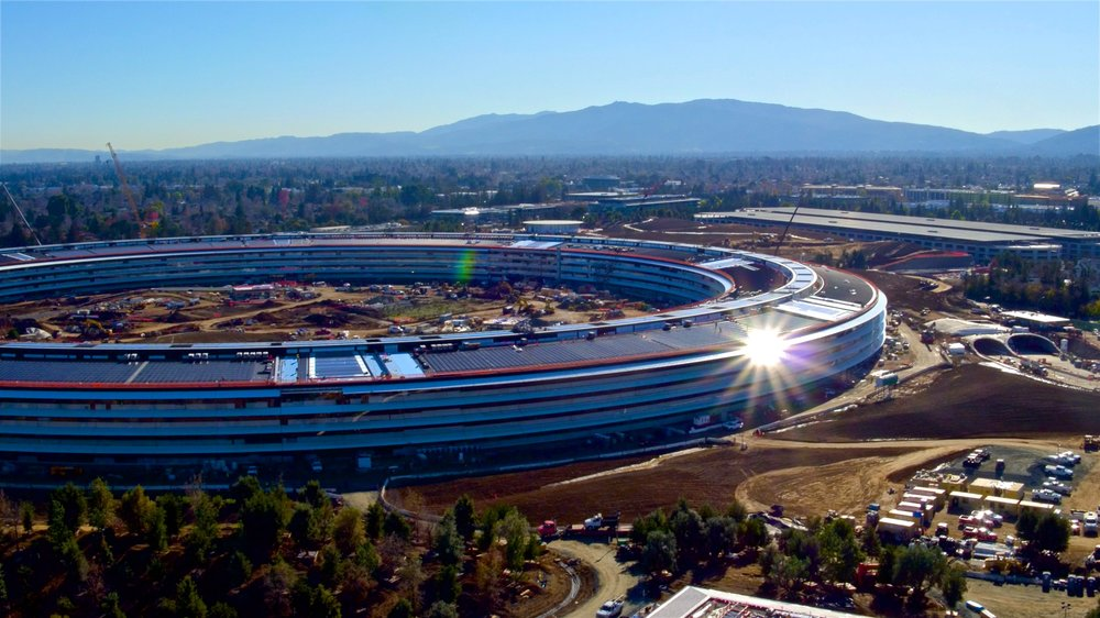 Apple Campus 2, late 2016.
