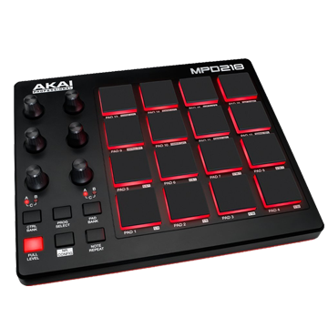 Drum Pad - Specially designed to trigger drum tones or samples.
