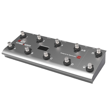 Footswitch Controller - For turning guitar or keyboard effects on/off.