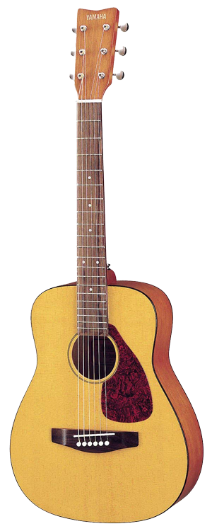 Yamaha JR1 FG - Yamahas are under-appreciated for their contribution to beginner guitars. They're durable, stay in tune and don't feel cheap at all!
