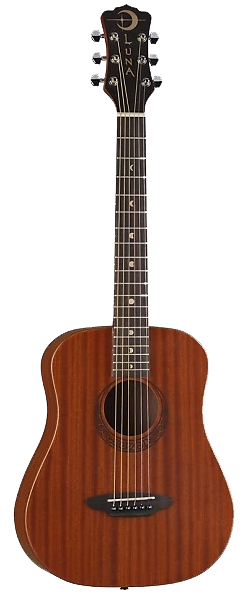 Luna Safari Series - This guitar has great projection for a ¾ guitar.