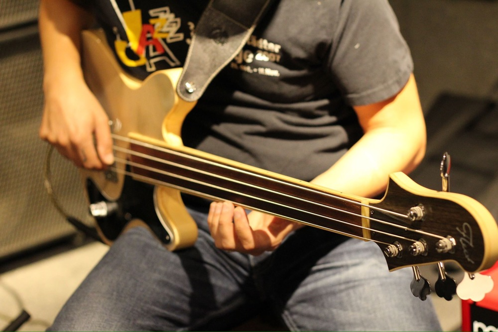 Medium scale fretless