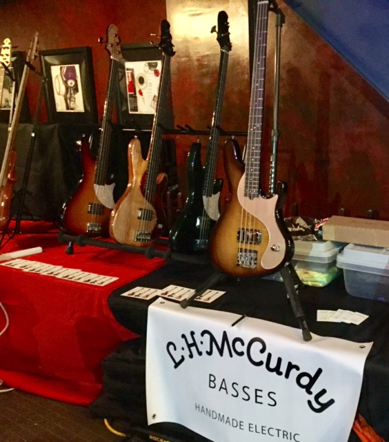 Booth at Lords of the Low End