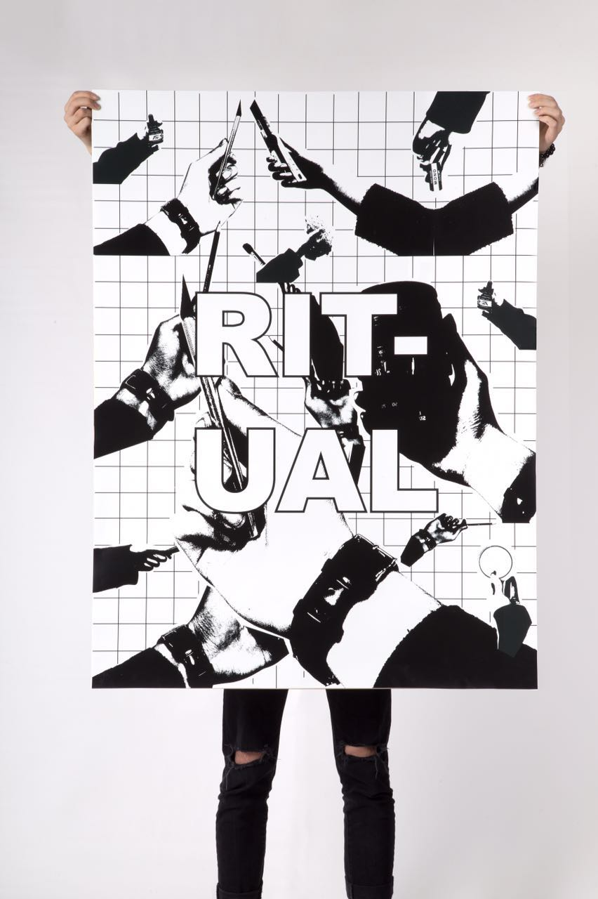 伦敦艺术大学海报设计_University of Arts London Poster Design_William He