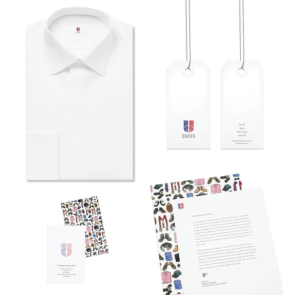 St. Michaels私立高校品牌商标设计/Branding Identity Design_Kiko Wu