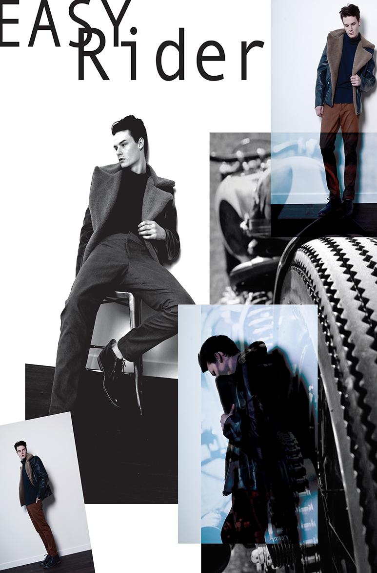 Quinci Wang参赛海报_平面设计作品:Easy Rider
