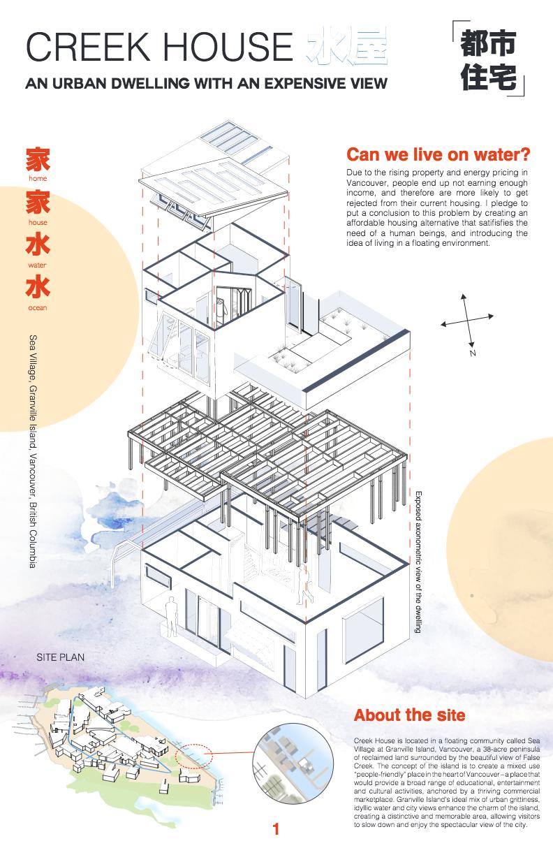 Residential Design_Rita Duan_Creek House