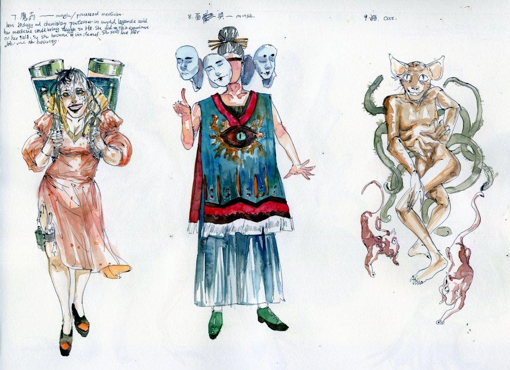 人物设计 | Character Design