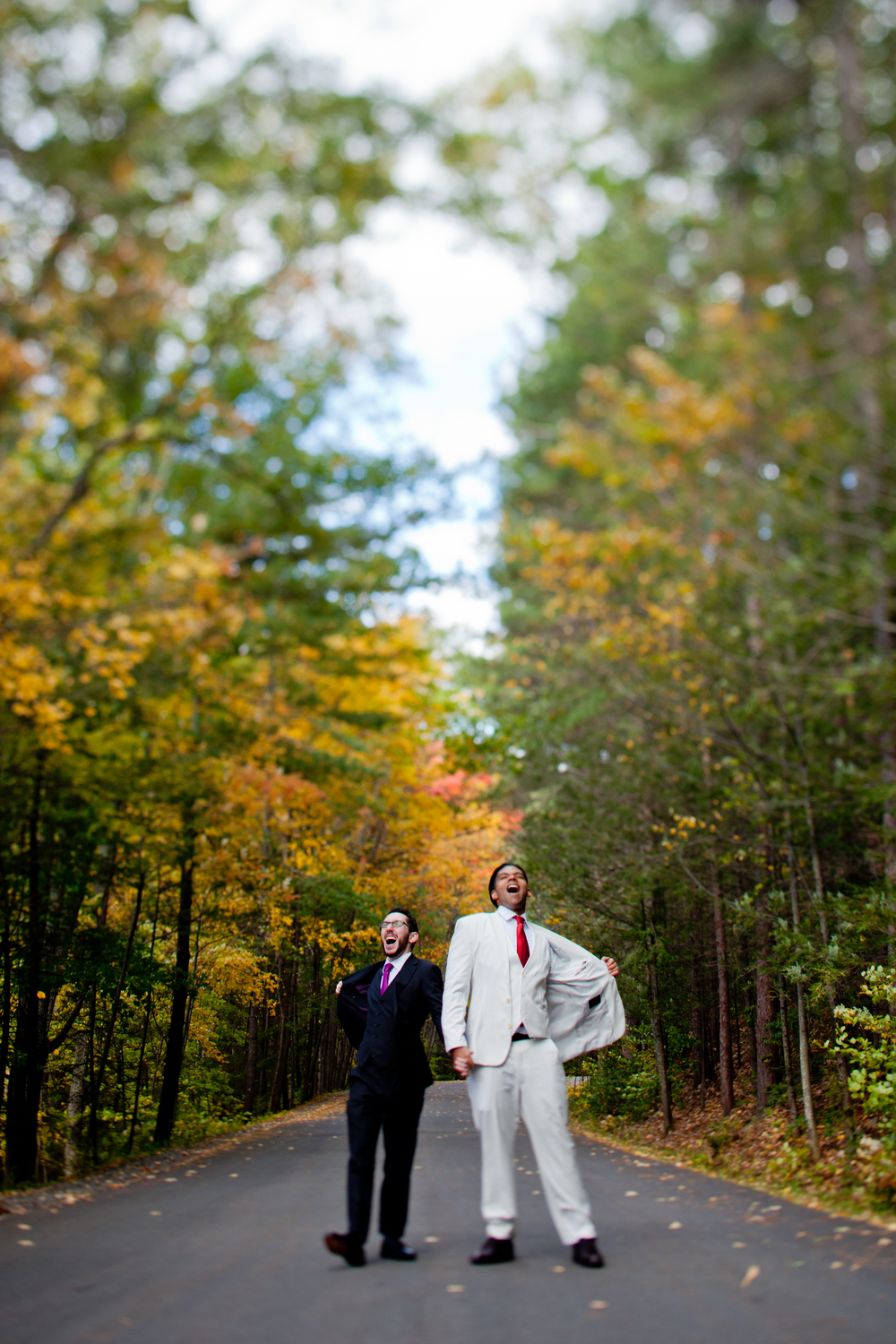 045_CarlyGaebe_SteadfastStudio_WeddingPhotography_Fall_Autumn_Foliage_UpstateNewYork_Gay_Biracial_OnteoraMountainHouse_HudsonValley_Grooms_TiltShift_Rustic.jpg