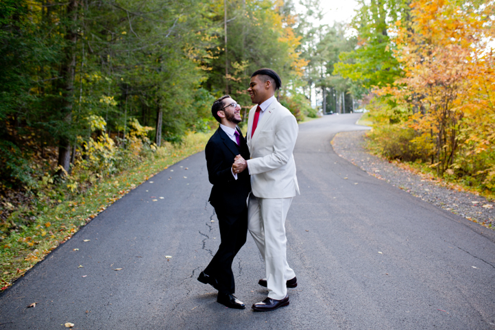 04_CarlyGaebe_SteadfastStudio_WeddingPhotography_Fall_Autumn_Foliage_UpstateNewYork_Gay_Interacial_OnteoraMountainHouse_HudsonValley_Grooms_Rustic.jpg