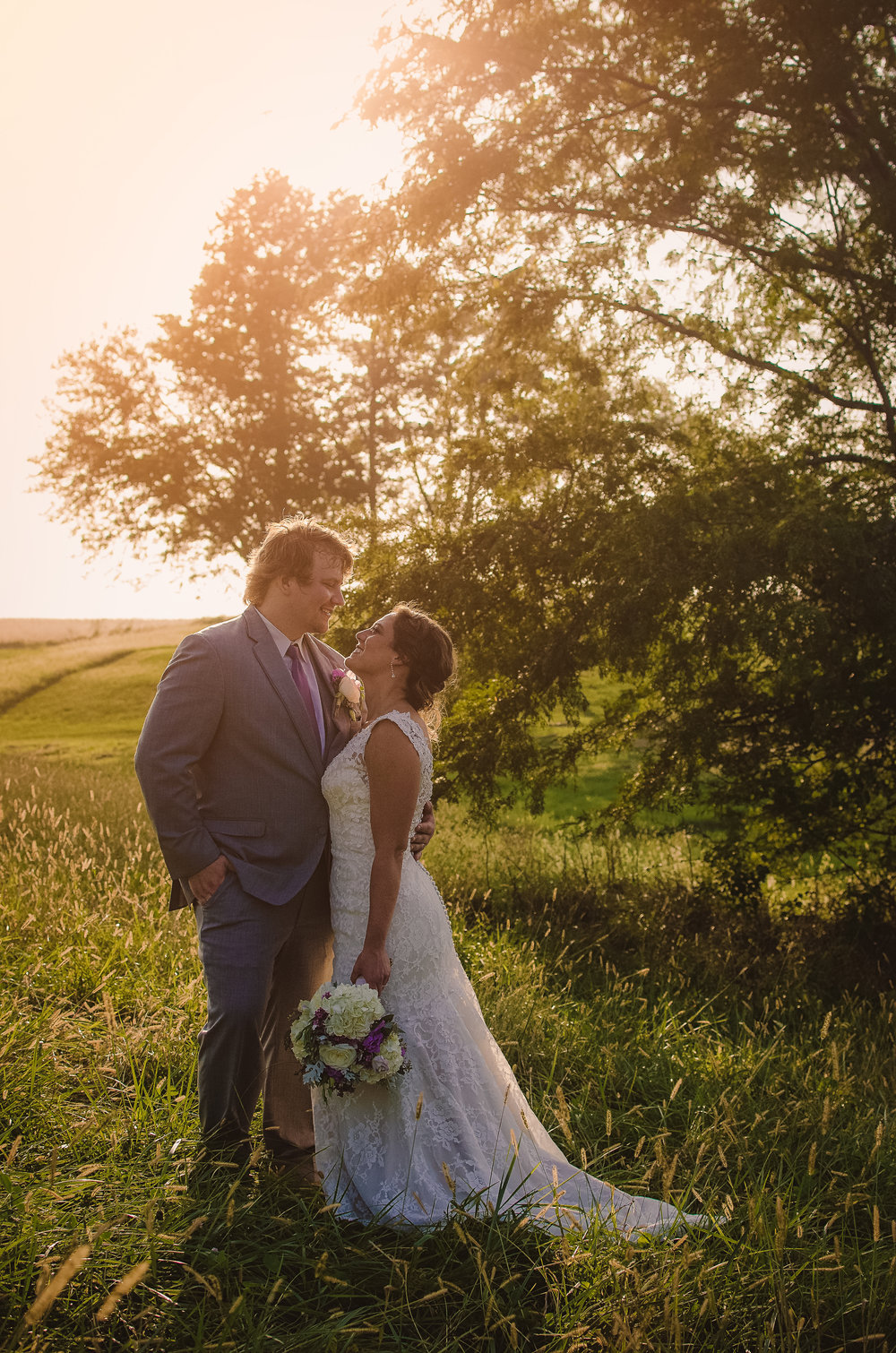 Ryan + Jenna Rustic Wedding