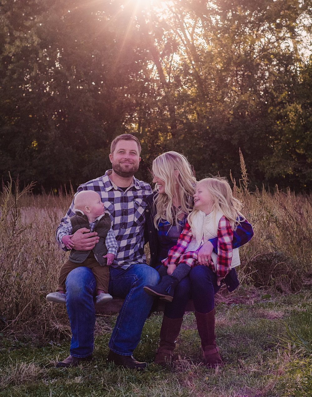 The Howard's Woodsy Family Session