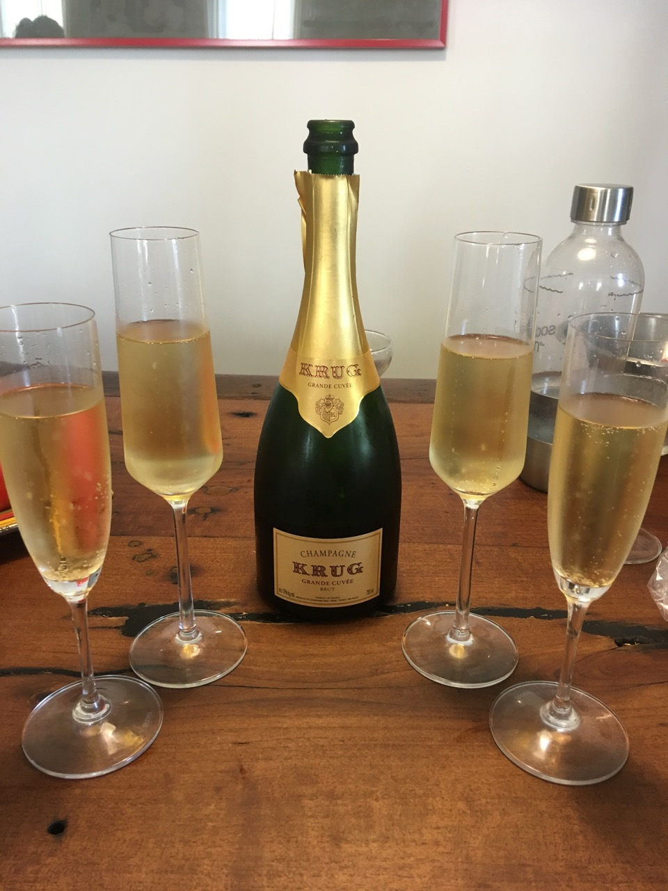 Krug, Grand Cuvée, Brut Champagne, N.V.