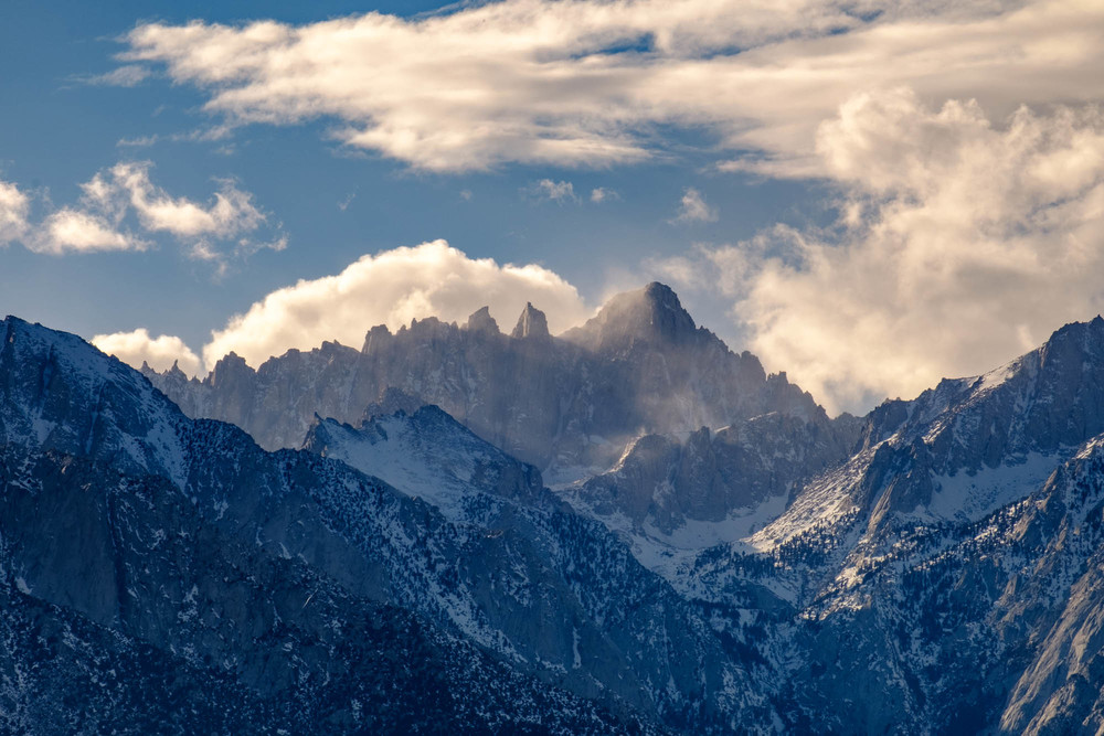 Mount Whitney as seen from Lone Pine