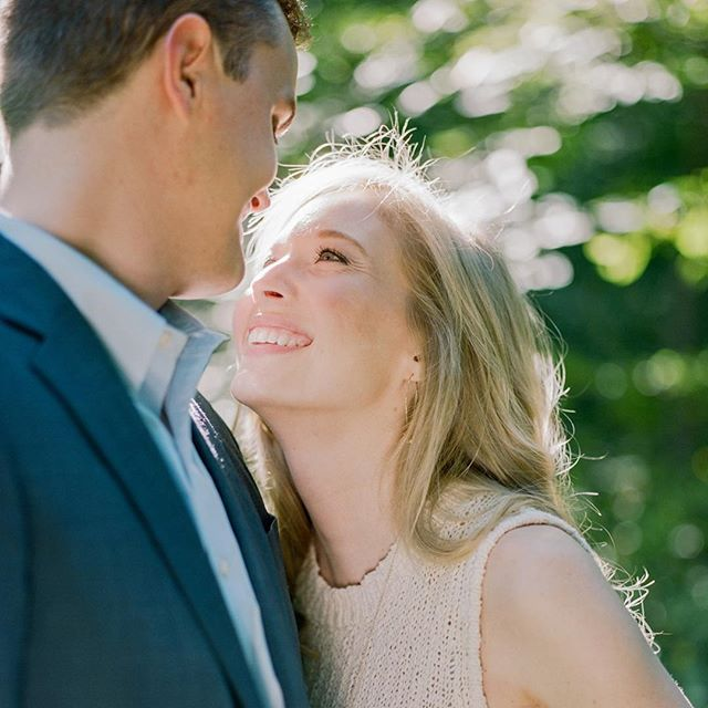 It's M+L's wedding day and we couldn't have asked for a more gorgeous summer day! Can't wait to watch these two tie the knot at @woodlawnandpopeleighey this afternoon!! 📷 by @lissa_ryan