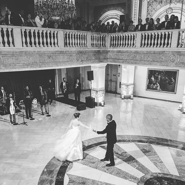 This weekends wedding was an absolute stunner! One of the guests captured this photo and we couldn't help but share. DC your elegant venues are absolutely amazing! 😍