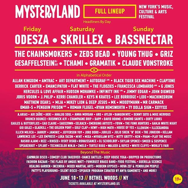 Brunch Bounce at Mysteryland 2016