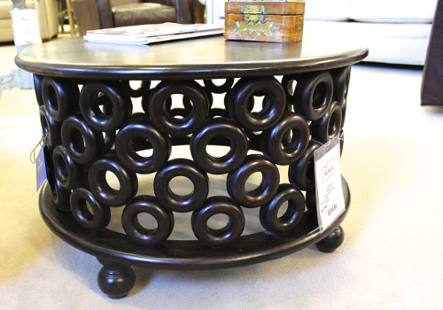 Round Cocktail Table from Stein World