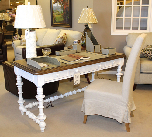 The Note-Worthy Desk from Paula Deen's Dogwood Collection