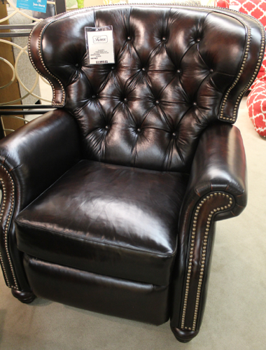 Comfort Design leather recliner