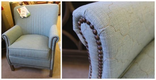 Upholstered chair by Craftmaster