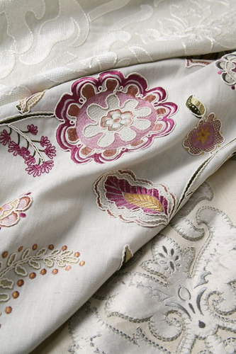 Elysian fabric from the Hearst Castle Collection (photo courtesy of Pindler & Pindler)