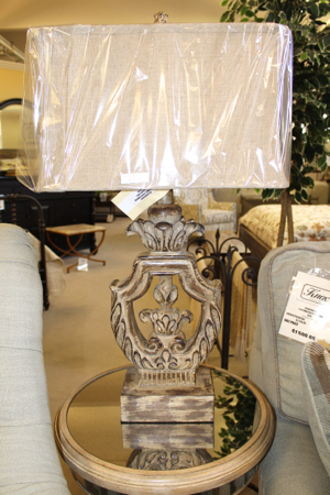 Isabella table lamp from Forty West