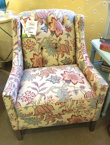 Craftmaster chair in Roanoke-26 fabric