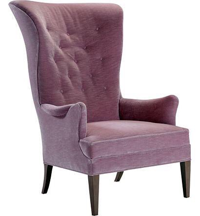 Bird Wing Chair from the Hable for Hickory Chair collection (photo courtesy of Hickory Chair)