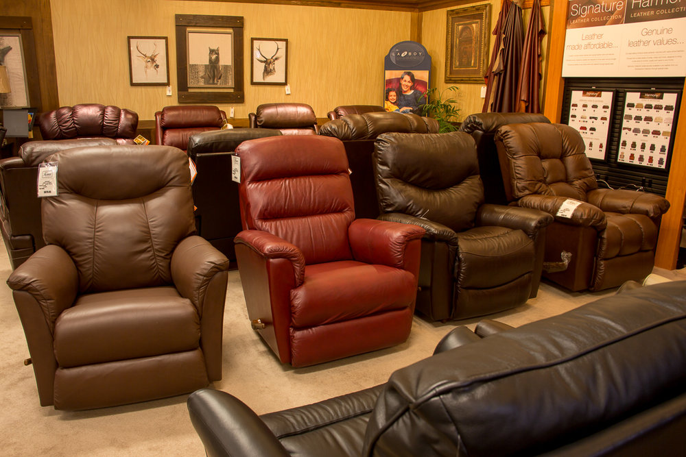 Full Inventory of LAZBOY Leather