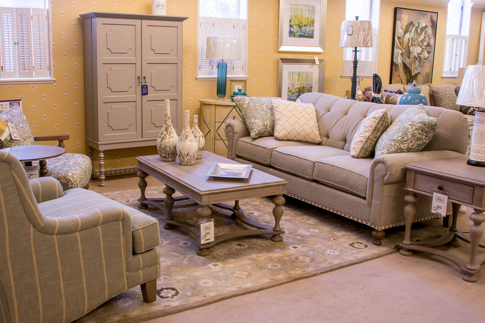 Paula Dean By Craftmaster (Sofa And Both Chairs.) Paula Dean By Universal (