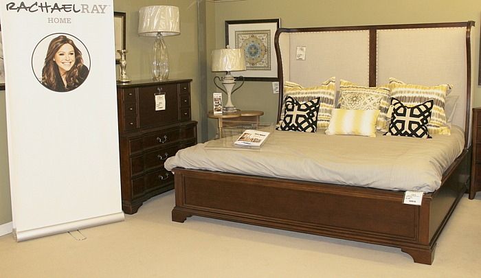 Upholstered Shelter Bed from Rachael Ray Home