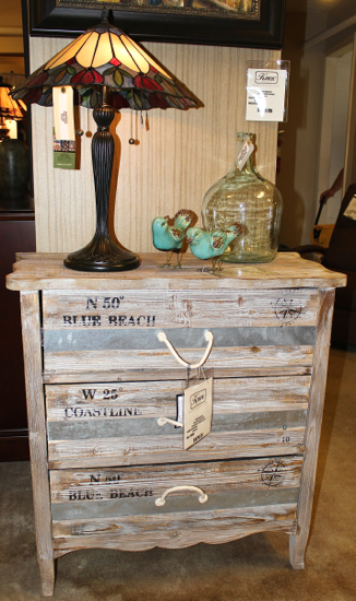 Grand Isle Three-Drawer Chest from Crestview Collection