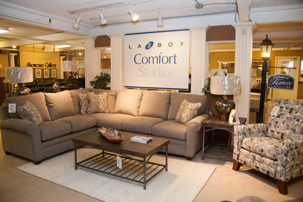"""Natalie"" Sectional also available as a Sofa/Loveseat"
