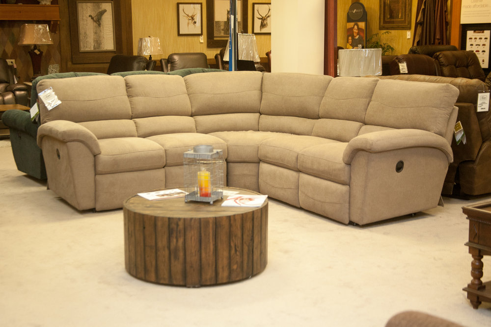 """Reese"" Reclining Sectional"